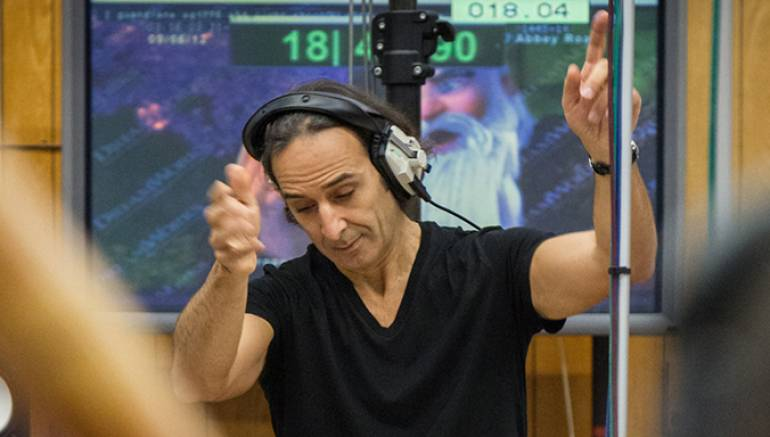 Pictured:  Alexandre Desplat