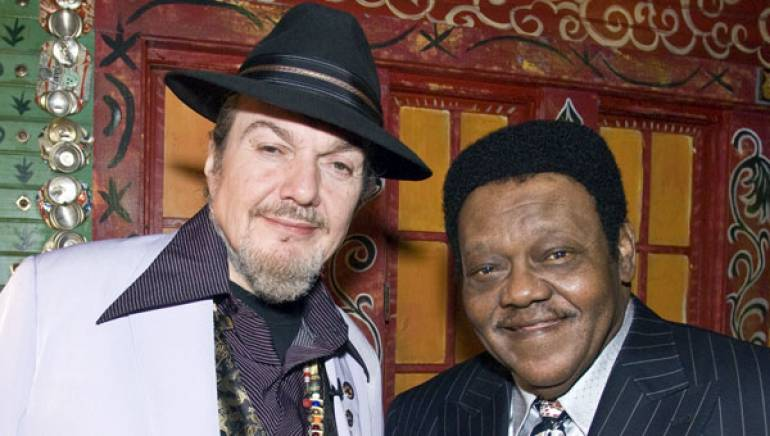 BMI legends Dr. John and Fats Domino pause for a photo backstage during <em>OffBeat Magazine</em>'s Best of the Beat Awards at the House of Blues in New Orleans on January 27, 2007.