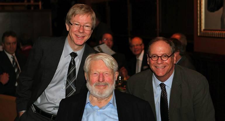 Pat Cook, Theodore Bikel, and Charlie Feldman