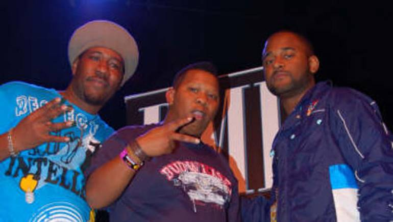 D.R.E.S tha Beatnik, Mannie Fresh, and BMI's Byron Wright