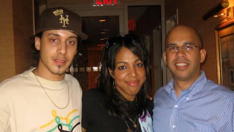 Pictured are (l- r): RephStar, Patty Dukes and BMI's Porfirio Piña.