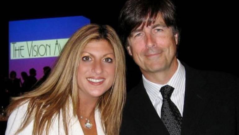 Pictured (l-r): BMI's Anne Cecere and composer Thomas Newman
