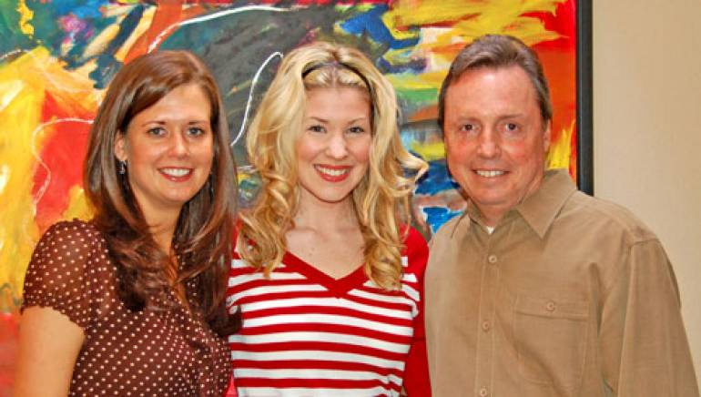 Pictured are (l to r): BMI's Beth Mason, Emily West and BMI's Jody Williams.