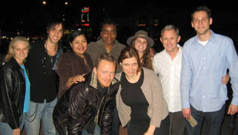 Back Row (l-r):  BMI's Barbara Cane, Ignacio Val, BMI's Marissa Lopez, Duane Neillson, Nettie Rose, Richard Harris, and BMI's Casey Robison. Front Row (l-r): BMI's Myles Lewis and Tracie Verlinde