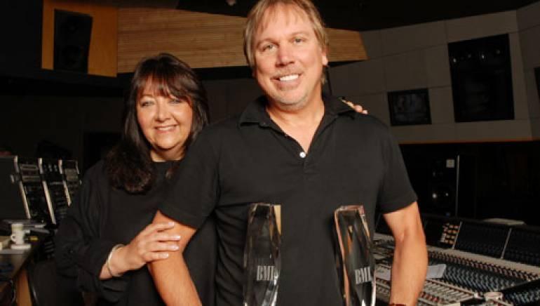 BMI's Doreen Ringer Ross and Mark Mancina.