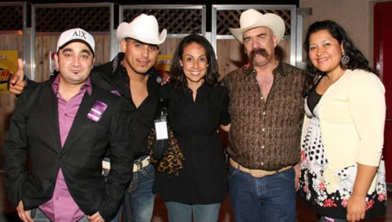 Publisher of  Editora ARPA Musical , Alejandro Garza; BMI singer/songwriter Espinoza Paz; BMI's Delia Orjuela; BMI songwriter Manuel Antonio Fernandez ; and BMI's Marissa Lopez
