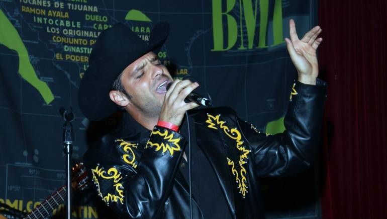 Cesar Brizuela helps kick off the 2009 Billboard Regional Mexican Music Summit at BMI's Noche Mexicana showcase in Los Angeles.