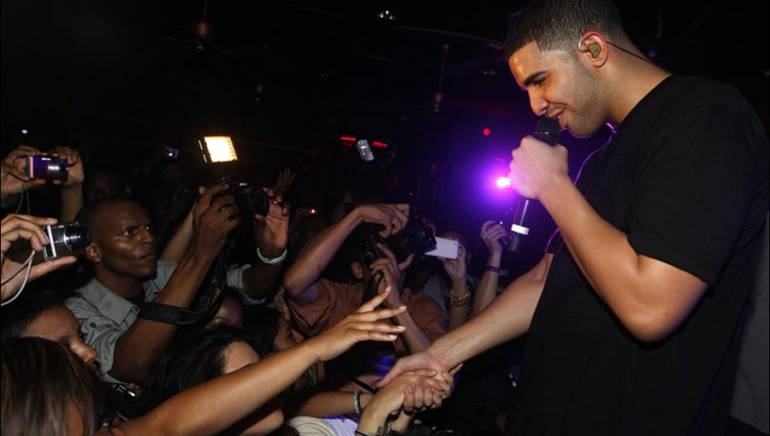 Drake performs onstage at the 13th Annual BMI Unsigned Urban Showcase at the Havana Club on April 20, 2010 in Atlanta.