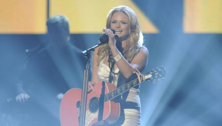 Miranda Lambert performs during the 43rd Annual CMA Awards.