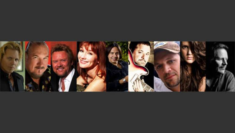 Jeffrey Steele, Steve Cropper, Lee Roy Parnell, Lari White, James Slater, Bob DiPiero, Marty Dodson, Kree Harrison and Delbert McClinton