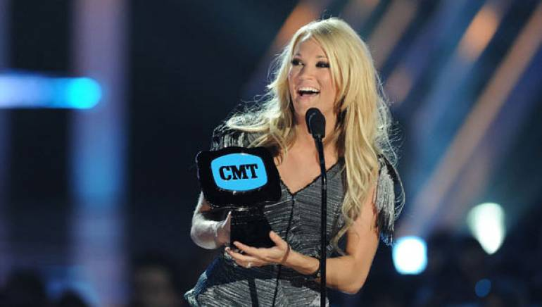 Carrie Underwood wins big at the 2010 CMT Music Awards.