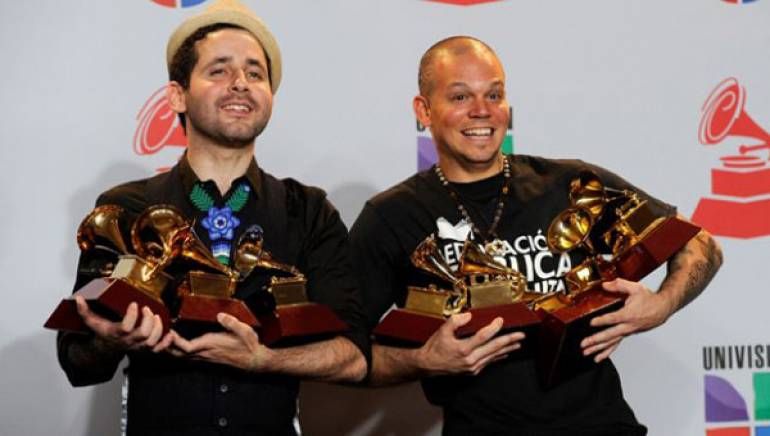 Calle 13 win big at the 2011 Latin Grammys in Las Vegas.