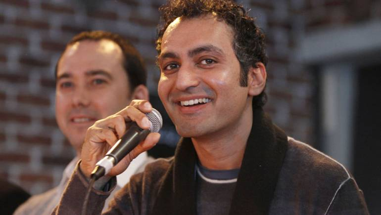 Pictured above: Composer Vivek Maddala participates in the 13th annual composer/director roundtable, presented by BMI and the 2011 Sundance Film Festival on January 26 in Park City, Utah.