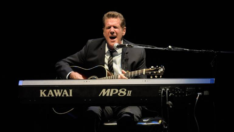 Glenn Frey performs during his Songwriters Hall of Fame Master Session at NYU.