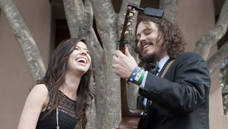 The Civil Wars perform at the Acoustic Brunch, presented by BMI, Billboard and Southwest Airlines on the lawn at the Four Seasons Hotel during SXSW 2011.