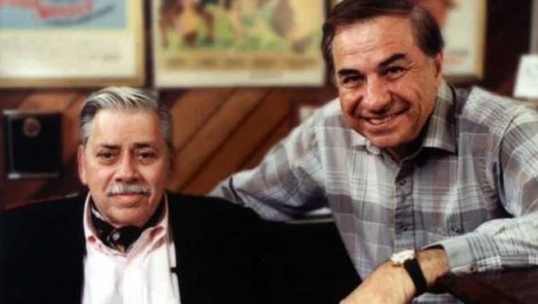 The Sherman Brothers, Robert (left) and Richard