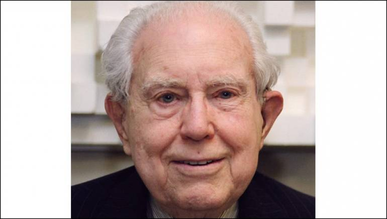 Pictured:  Elliott Carter