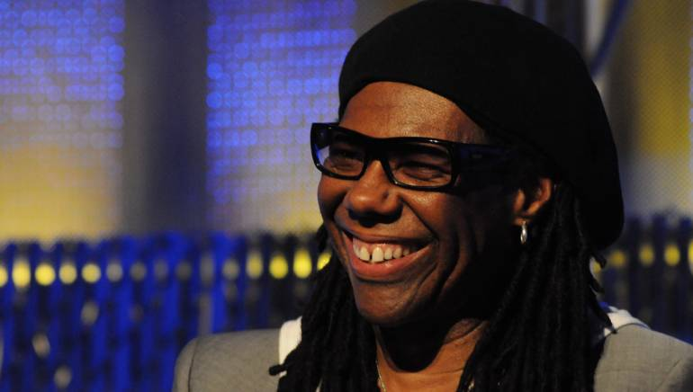 Nile Rodgers speaks at a conference in Seattle in 2010