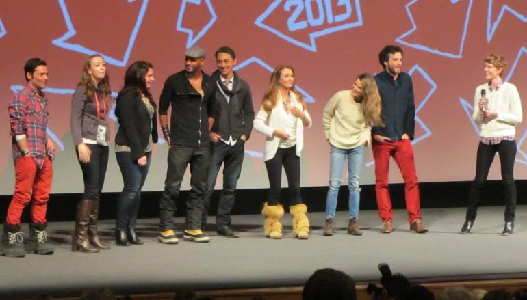 The cast of Austenland at Sundance 2013