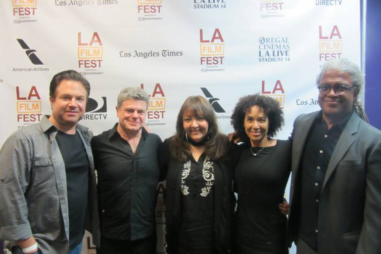 Pictured at the LAFF Master Class