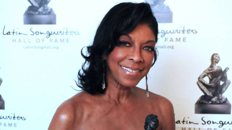 Pictured: Natalie Cole at the 2013 Latin Songwriters Hall of Fame Induction Gala