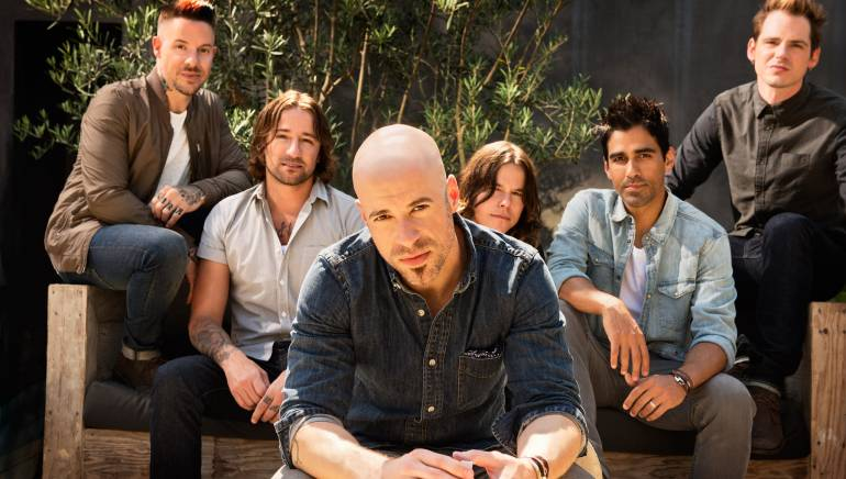 Chris Daughtry and band members
