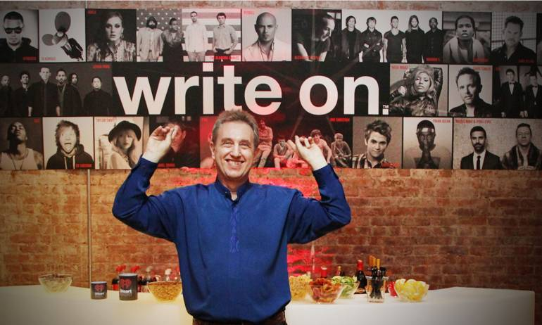 Pictured: Film/TV composer Rick Baitz at BMI's VIP Lounge during the AMP Awards, part of Creative Week in New York City.