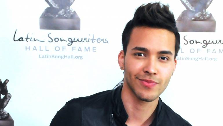 BMI songwriter Prince Royce at the inaugural Latin Songwriters Hall of Fame La Musa Awards Gala in Miami on April 23, 2013.