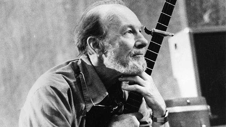 Pictured: Peter Seeger