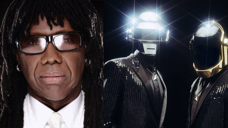 Pictured: Nile Rodgers and Daft Punk