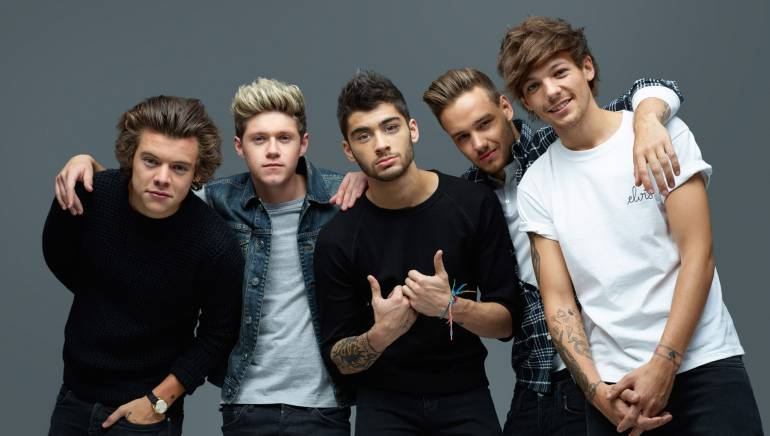 Pictured: One Direction