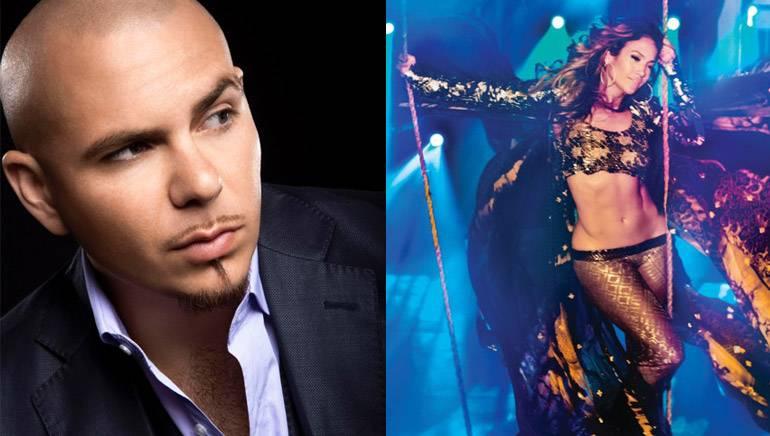 Pictured: Pitbull, Jennifer Lopez
