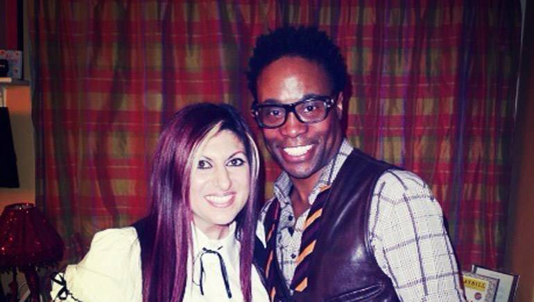 Pictured: BMI's Anne Cecere with Tony and GRAMMY-winner Billy Porter.