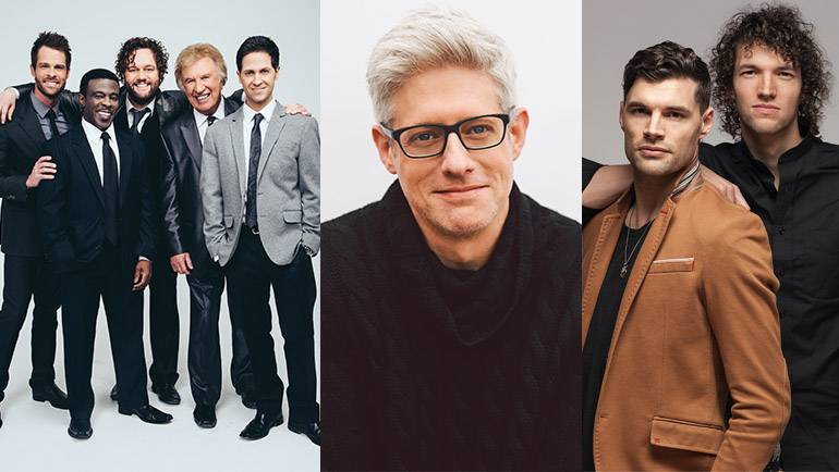 Pictured: Gaither Vocal Band, Matt Maher and for KING & COUNTRY