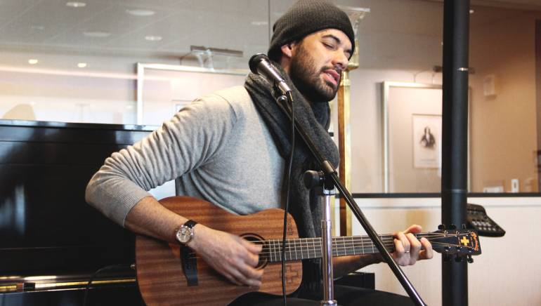 BMI songwriter EliaCiM sings a selection of his hit songs for BMI NY.