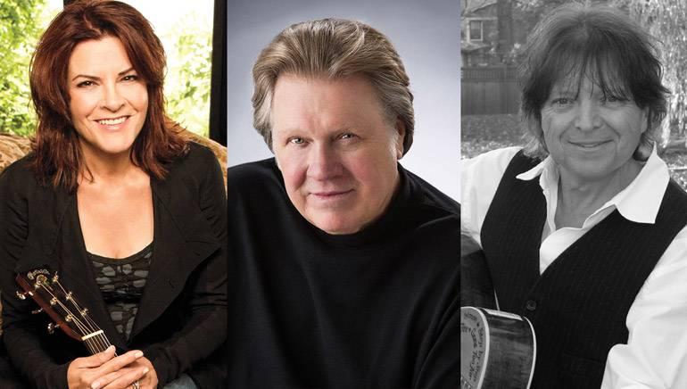 Pictured: Rosanne Cash, Mark James,and Even Stevens