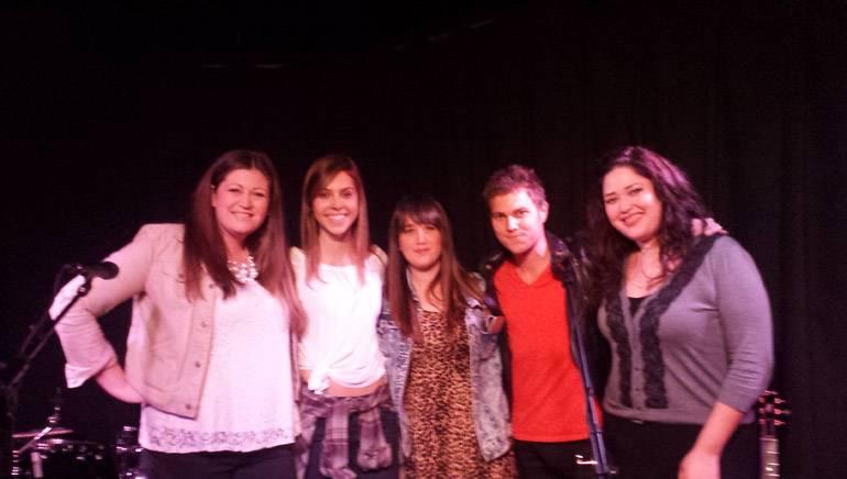 Pictured (L–R): BMI's Ashley Saunders, Anna Schulze, Vanessa Zamora, Craig Paddock and BMI's Krystina DeLuna.