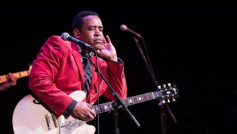 31st International Blues Challenge winner and BMI songwriter Eddie Cotton from the Vicksburg Blues Society.