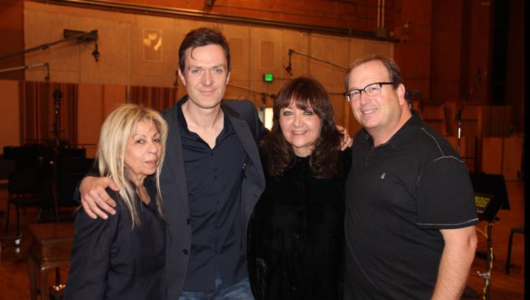 Pictured (L-R) are: Vice President, Music Production & Administration, 20th Century Fox Television, Carol Farhat;Empire composer Fil Eisler; BMI Vice President, Film/TV Relations Doreen Ringer-Ross; and contractor Peter Rotter.