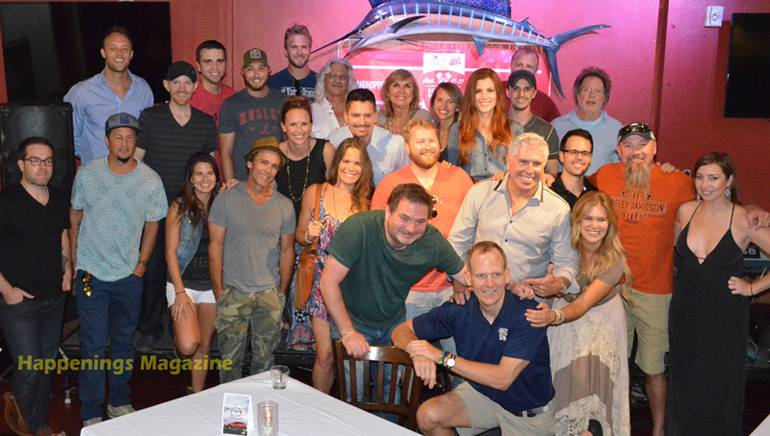 Pictured (L-R) at the Island Hopper Songwriter Fest are (5throw): BMI's David Claassen,BMI songwriters Ryan Robinette, Stephen Plein and Frank Rogers; (4throw) BMI songwriters Steven Whitson, Brandan James, Ray Cerbone, Carlene Thissen, Kimberly Kelly, Greg Bates and Steve Dorff; (3rdrow) BMI songwriters Kristen Kelly, George Ducas and Shelley Skidmore; (2ndrow) BMI songwriters Will Bowen, Michael Tolcher, Sheena Brook, Scott Reeves, Bonnie Bishop, Brett Tyler, Chris Choto, Kendell Marvel and Kylie Sackley; (1strow) BMI songwriters Dylan Altman, Tim McGeary and Ruthie Collins; (front) BMI's Dan Spears.