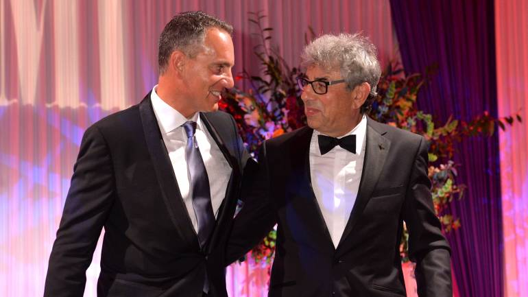 BMI President and CEO Mike O'Neill and BMI Icon Graham Gouldman