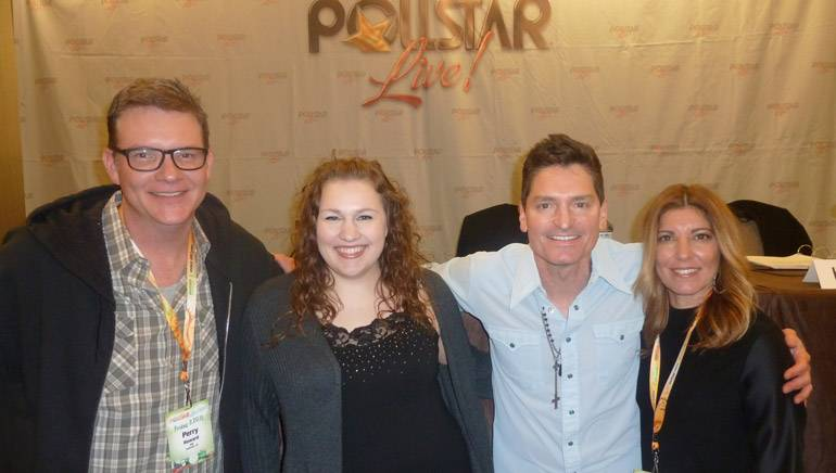 Pictured (L-R) after the panel: BMI's Perry Howard, Love Monkey Music's Emily Peacock, BMI songwriter George Ducas and AAM/Tom Leis Music's Leslie DiPiero. news, country, Nashville and licensing. Thanks!