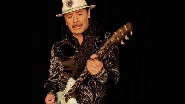 Pictured: Legendary Latin music sensation Santana.