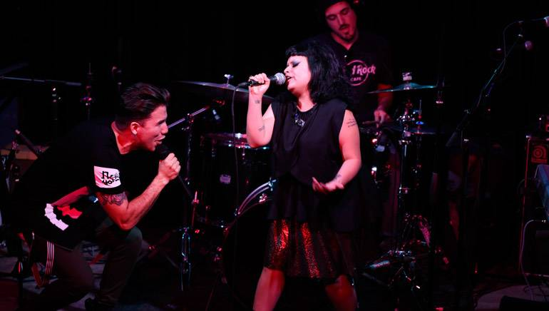 Julio Reyes and Amandititita hit every note with ease during BMI's Verano Alternativo Showcase.