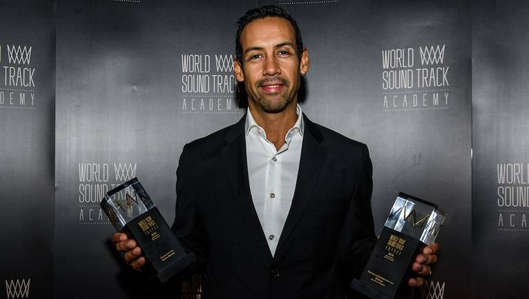 BMI composer Antonio Sanchez honored with Best Original Film Score of the Year, as well as Discovery of the Year award, at the 15th World Soundtrack Awards.