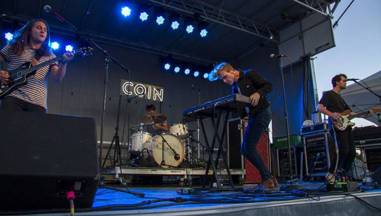 "Nashville's BMI band COIN provides a synth-pop soundtrack to the sunset at the BMI stage at Loufest 2015. Their current single ""Talk Too Much"" is blowing up the airwaves."