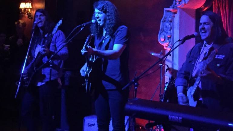 The Mud Howlers impress the audience at BMI's Pick of the Month show held at Bardot in Hollywood, CA