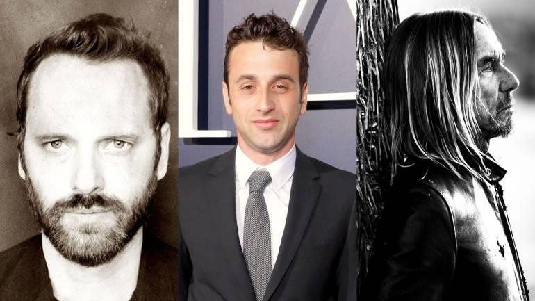 Pictured (L-R): Dustin O'Halloran, Justin Hurwitz and Iggy Pop