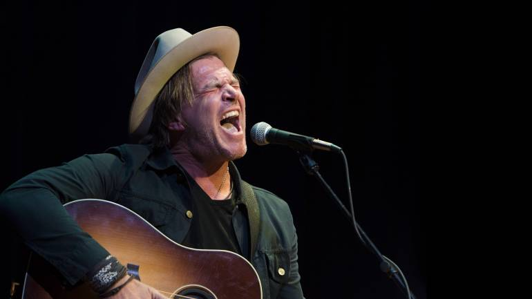 Jack Ingram performs at the Key West Theatre during Key West Songwriters Festival on May 7, 2016.