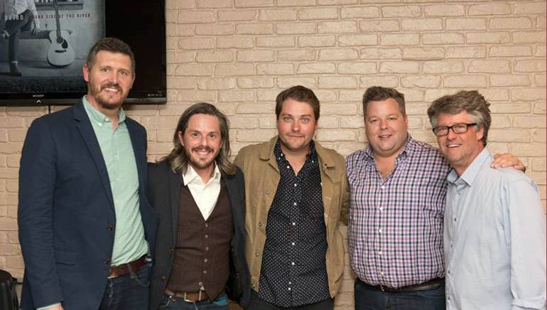 BMI hosted a listening party of Rob Baird's latest album Wrong Side of the River, expected May 13 from Hard Luck Recording Company. Hosted April 21, the party featured Rob previewing tracks to the crowd of music industry friends and family.